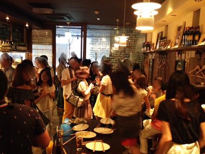 誰でも参加しやすい街コン&恋活、友活パーティー★屋上テラス♪最高のロケーションで楽しむことができる人気のレストラン『Bistro&Spanish Le Patio 栄』 開催