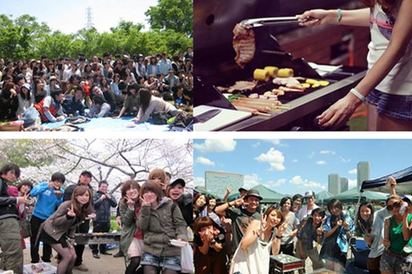 ◆4/30(土)【大阪城公園】【BBQ】300名規模♪誰でも参加しやすいBBQパーティー♪気軽に友達や恋人を作りに来てください♪7割の方がお一人で初参加です♪◆